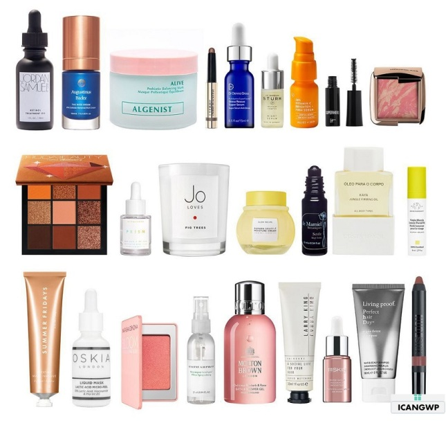 cult beauty advent calendar 2020 contents icangwp