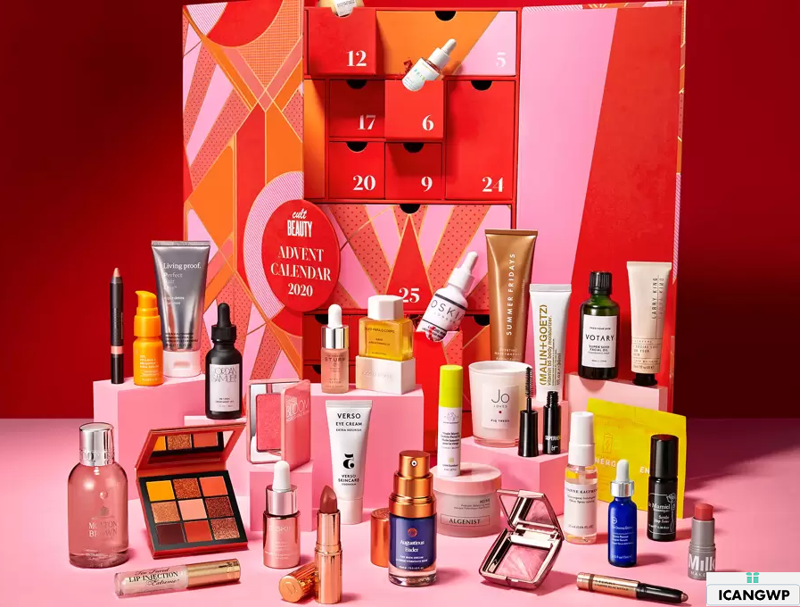 cult-beauty advent calendar 2020 icangwp beauty blog
