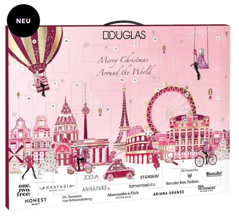 douglas beauty advent calendar 2020 Merry Christmas Around the World