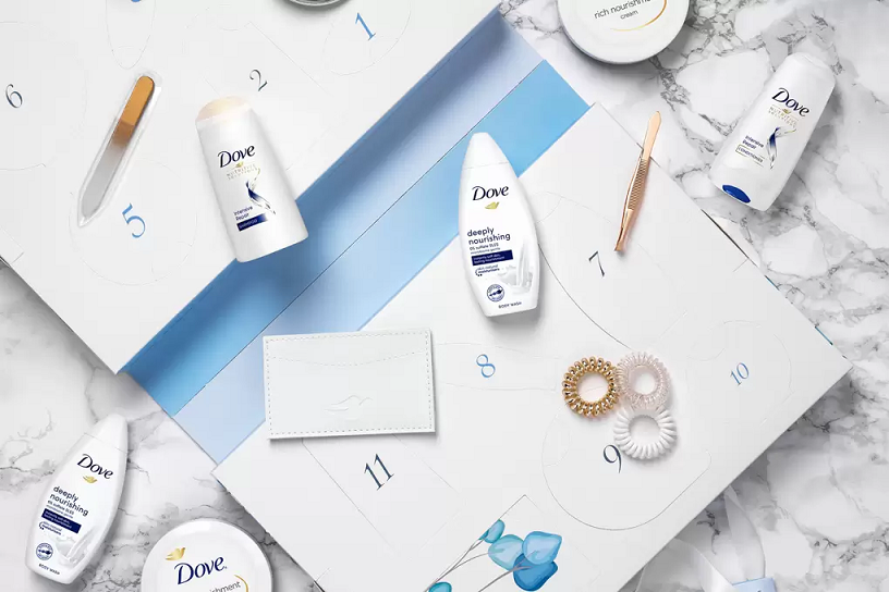 dove advent calendar 2020 icangwp beauty blog