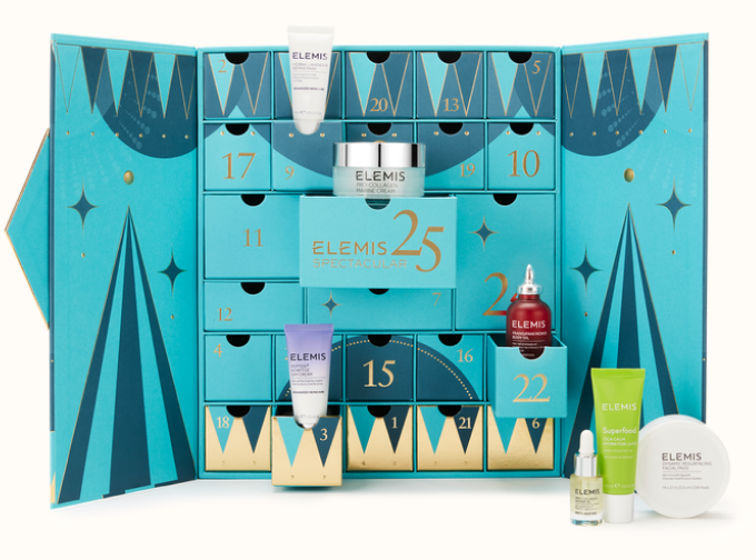elemis advent calendar 2020 25 Days of Spectacular Skin Advent Calendar icangwp beauty blog