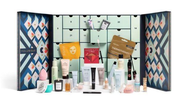 feelunique-beauty-advent-calendar 2020 icangwp blog