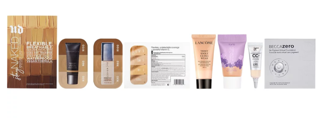 Free Foundation Sampler with $25 makeup purchase Ulta Beauty icangwp