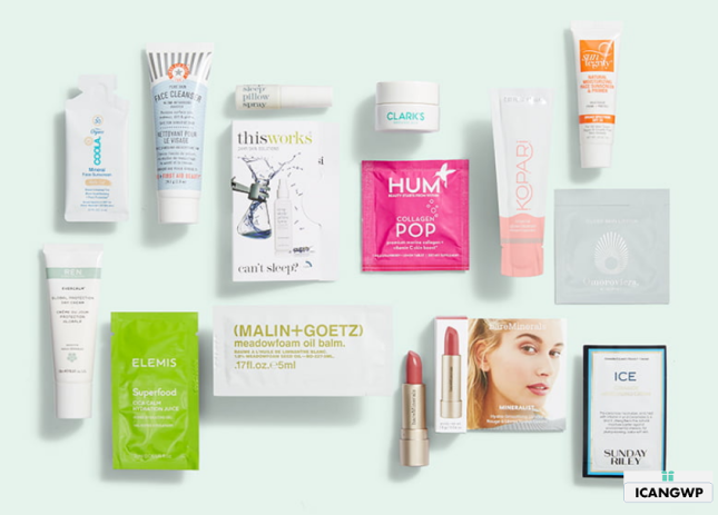 Gift with Purchase Nordstrom 13pc w 125 skincare sep 2020 icangwp blog