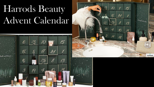 Harrods Beauty Advent Calendar 2020 icangwp beauty blog 2