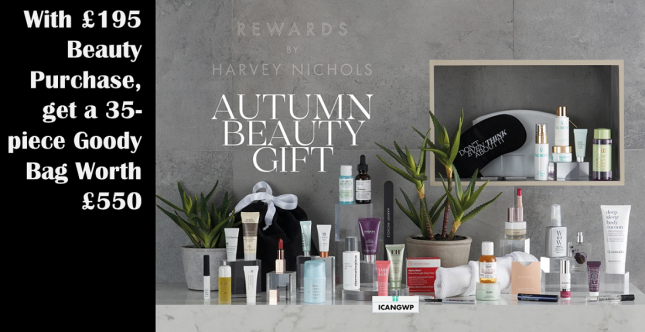harvey nichols autumn gift 2020 icangwp