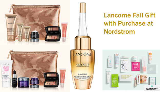 lancome Gift with Purchase Nordstrom 2020 icangwp blog sept 2020