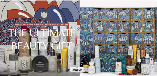liberty london beauty advent calendar 2020 icangwp full spoiler
