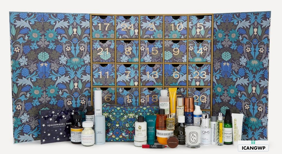 liberty london beauty advent calendar 2020 icangwp full spoilers
