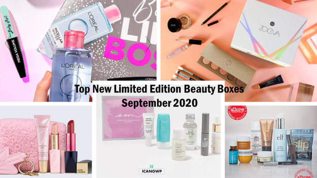 limited edition beauty box icangwp blog sept 2020