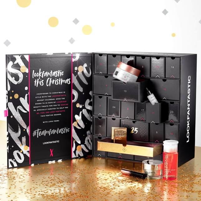 Lookfantastic advent calendar 2020 icangwp beauty blog contents