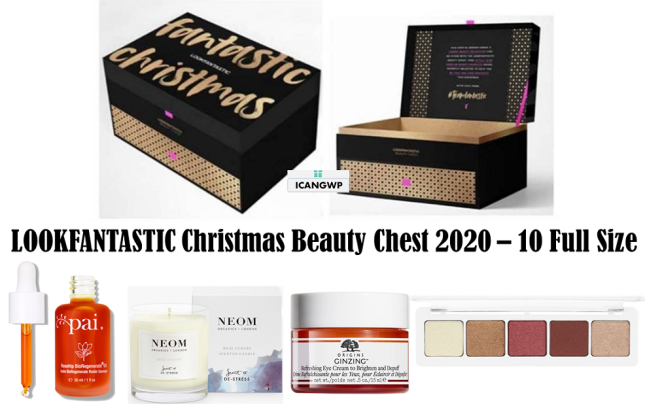 lookfantastic beauty chest 2020 lookfantastic limited edition beauty box icangwp blog