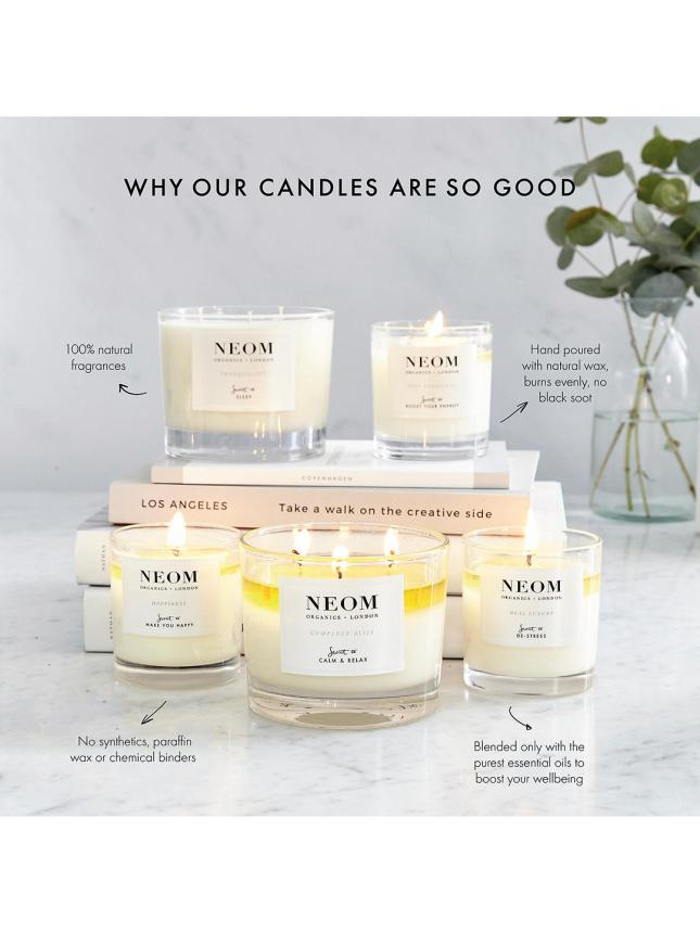 lookfantastic holiday beauty chest 2020 spoiler neom real luxury scented candle icangwp