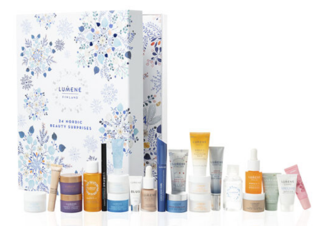 lumene Beauty Advent Calendar - 24 Nordic Beauty Surprises 2020 icangwp blog