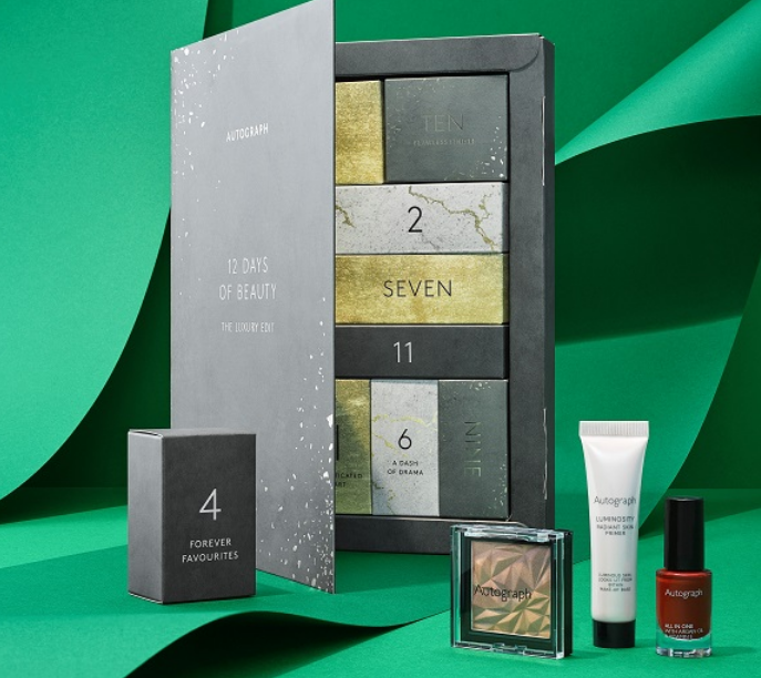 marks and spencer m&s autograph Makeup Advent Calendar 2020 icangwp