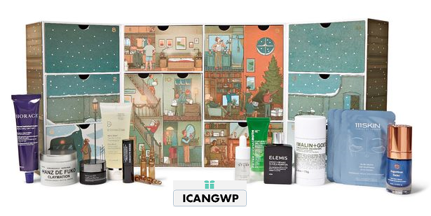 mr porter 12 days of christmas grooming advent calendar 2020 icangwp