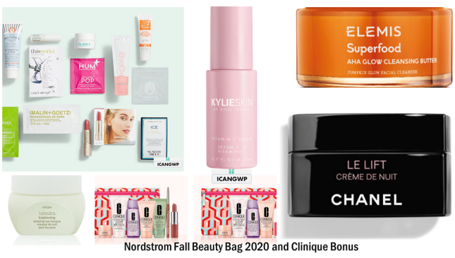 nordstrom 13pc gift w 125 skincare icangwp blog sep 2020