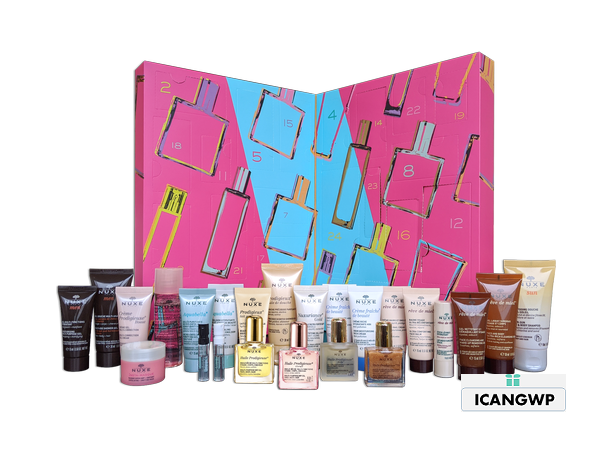 nuxe beauty advent calendar 2020 icangwp 2