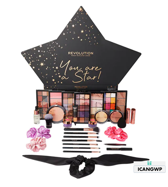 Revolution You Are A Star Makeup Gift Set advent calendar 2020 icangwp