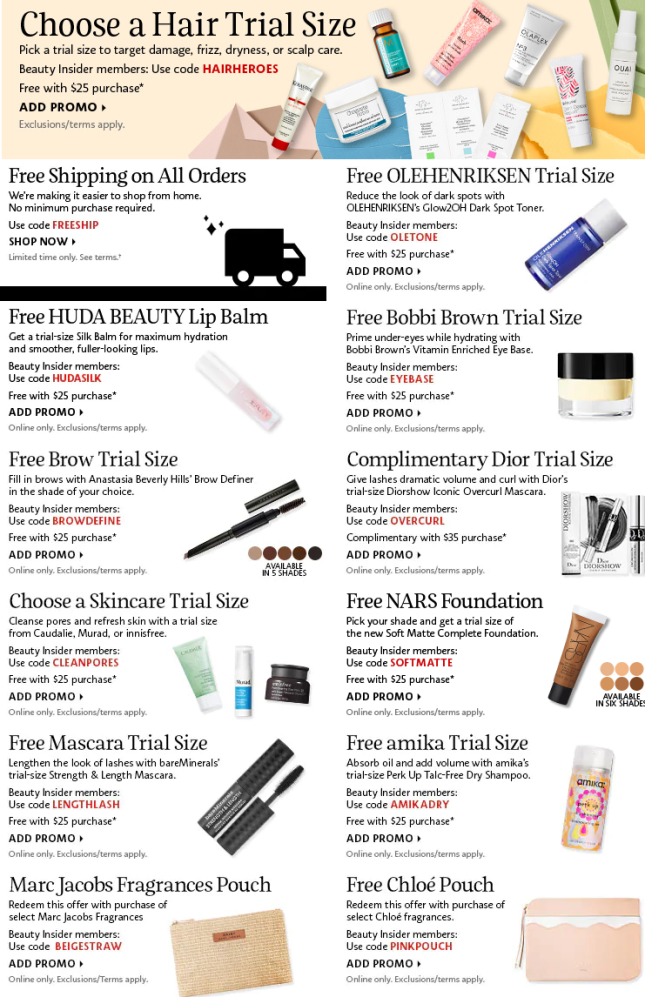 Screenshot_2020-09-16 Sephora Coupons, Promo Codes Coupon Codes Sephora