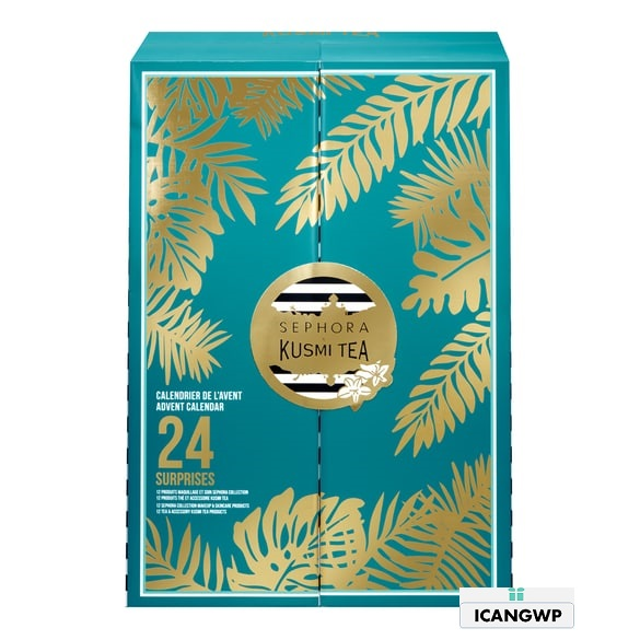 Sephora Collection X Kusmi Tea Wild Wishes canlendar sephora advent calendar 2020 icangwp blog.png