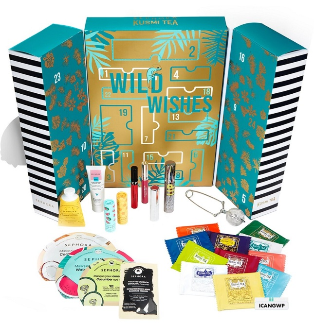 Sephora Collection X Kusmi Tea Wild Wishes sephora advent calendar 2020 icangwp_files