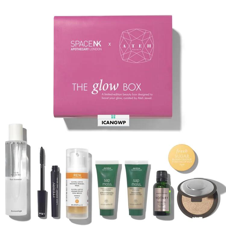 space nk beauty box 2020 the glow box icangwp