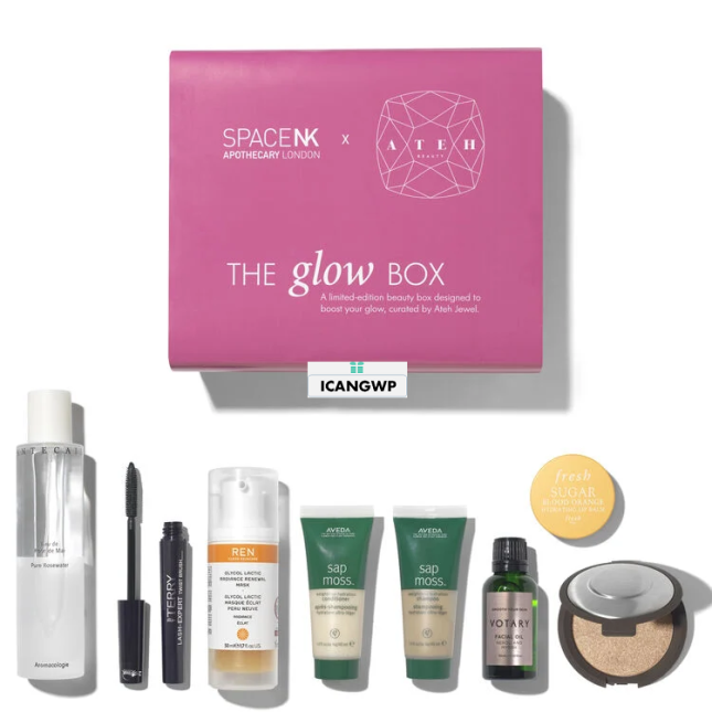 space nk beauty box 2020 the glow box icangwp