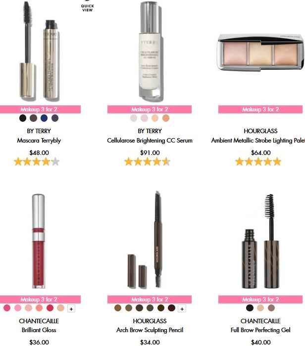 space nk Buy 2 get 1 FREE makeup icangwp blog sep 2