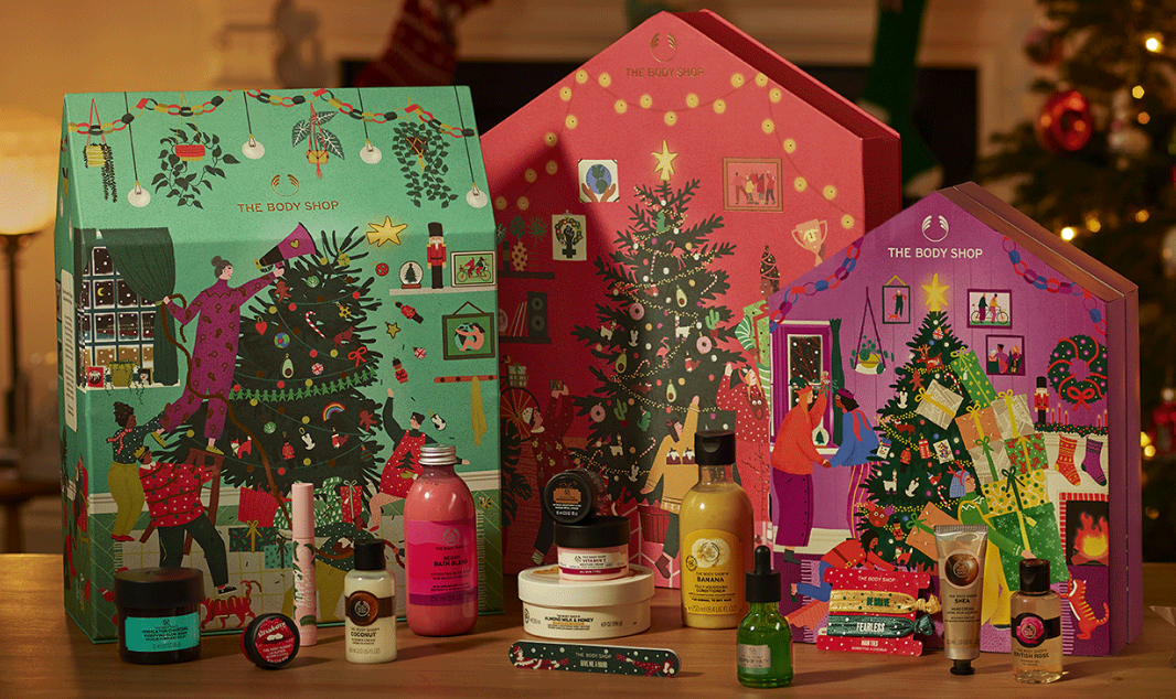 the body shop Advent Calendars 2020 icangwp blog
