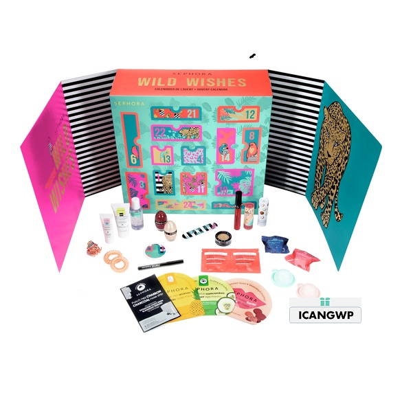 Wild Wishes 24 Surprises sephora advent calendar 2020 icangwp blog.png