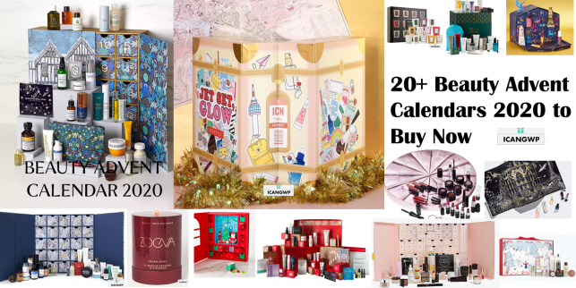 beauty advent calendars 2020 icangwp beauty blog october 2020
