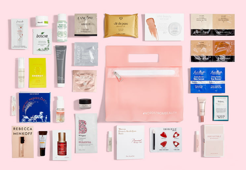 beauty Gift with Purchase Nordstrom 26pc with $125 icangwp beauty blog oct 2020