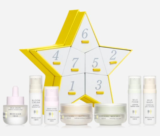 beekman advent calenar 2020 Skincare Stars 7 Day Gift Set icangwp