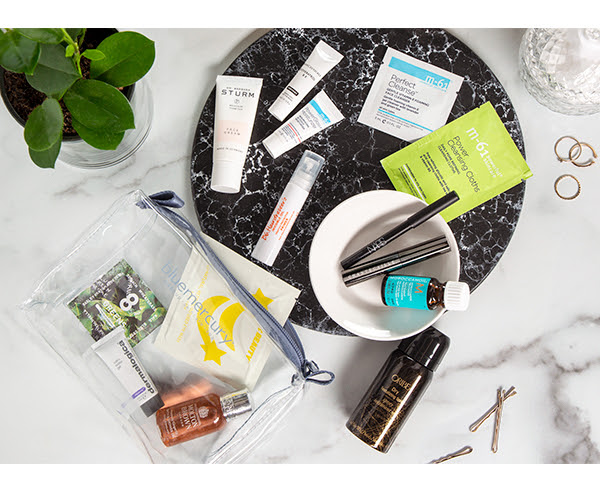 bluemercury beauty gift with purchase 14pc w 125Samples + Exclusive Bag icangwp