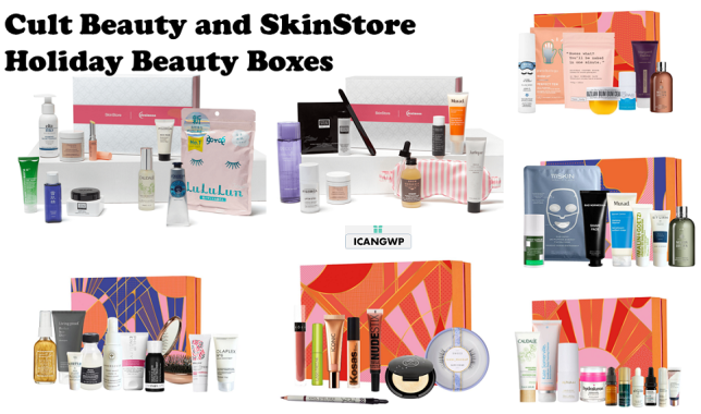cult beauty boxes holiday beauty icangwp