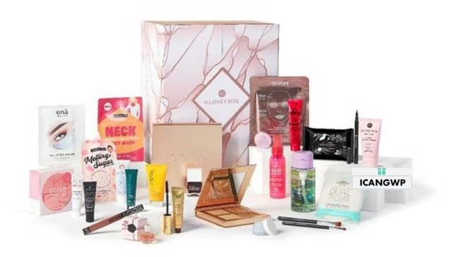 glossybox advent calendar 2020 us contents icangwp beauty blog
