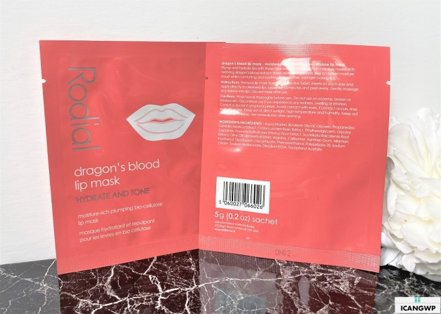 glossybox x rodial limited edition beauty box review icangwp blog rodial dragon's blood lip mask oct 2020