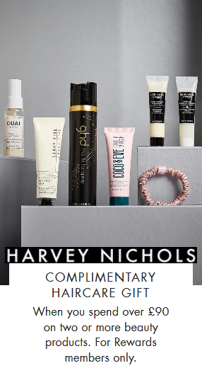 Harvey Nichols gift with purchase code