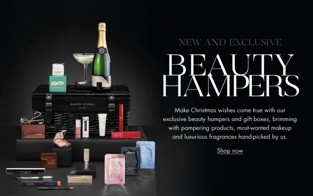 Harvey Nichols beauty hampers 2020 icangwp blog