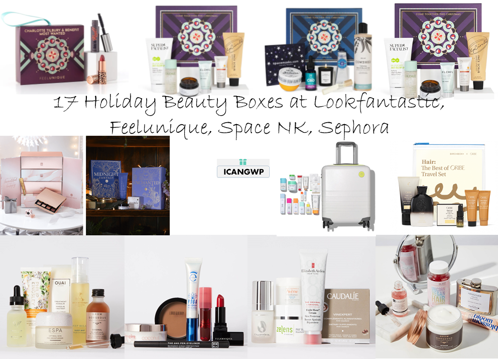 holiday beauty box 2020 sephora lookfantastic feeluniqe space nk icangwp
