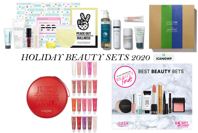 HOLIDAY BEAUTY SETS 2020 ICANGWP