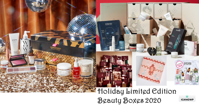 Holiday Limited Edition Beauty Box 2020 icanwp blog