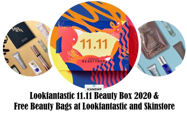 lookfantastic 11 11 beauty box 2020 icangwp blog
