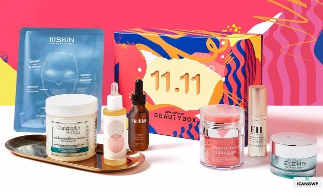 lookfantastic 11.11 box singles day beauty box 2020 icangwp beauty blog