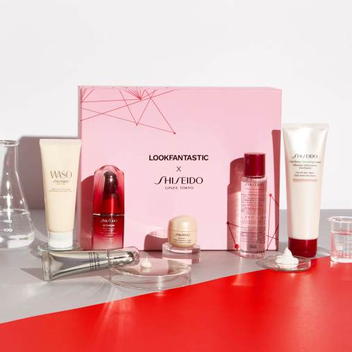 LOOKFANTASTIC x Shiseido Limited Edition Beauty Box icangwp