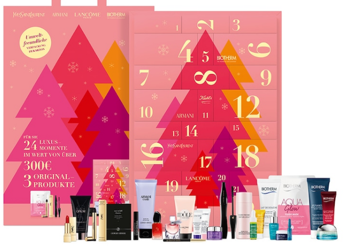 loreal luxury beauty advent calendar 2020 icangwp