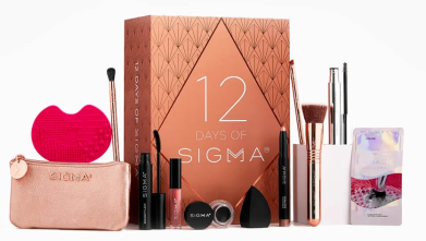 sigma beauty advent calenar 2020 12 Days of Sigma icangwp