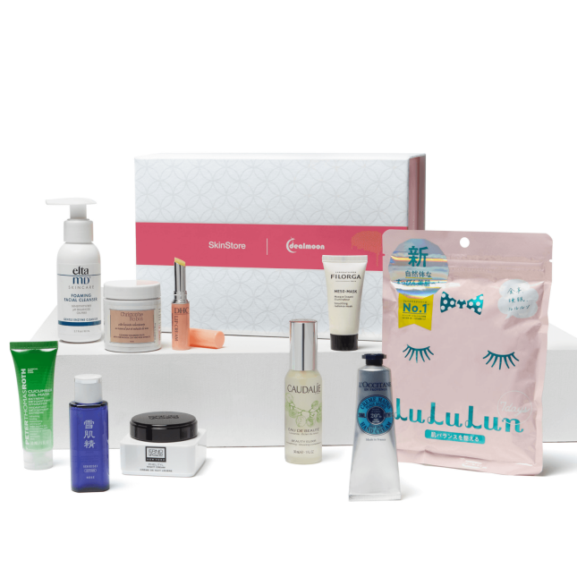 skinstore dealmoon essentials beauty box icangwp