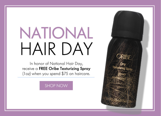 space nk National Hair Day gift icangwp blog